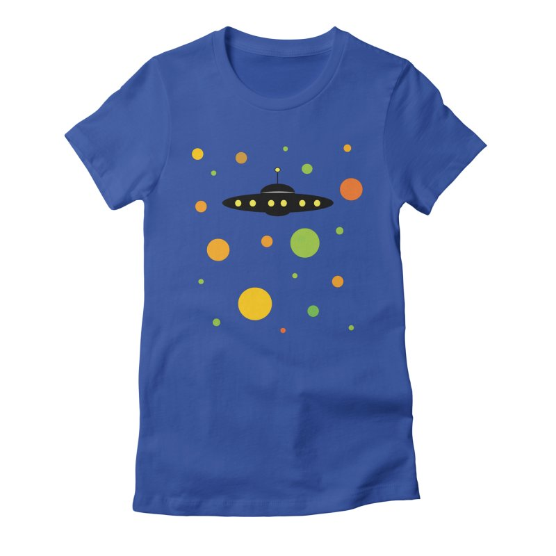Among friends Women's Fitted T-Shirt by SuperOpt Shop