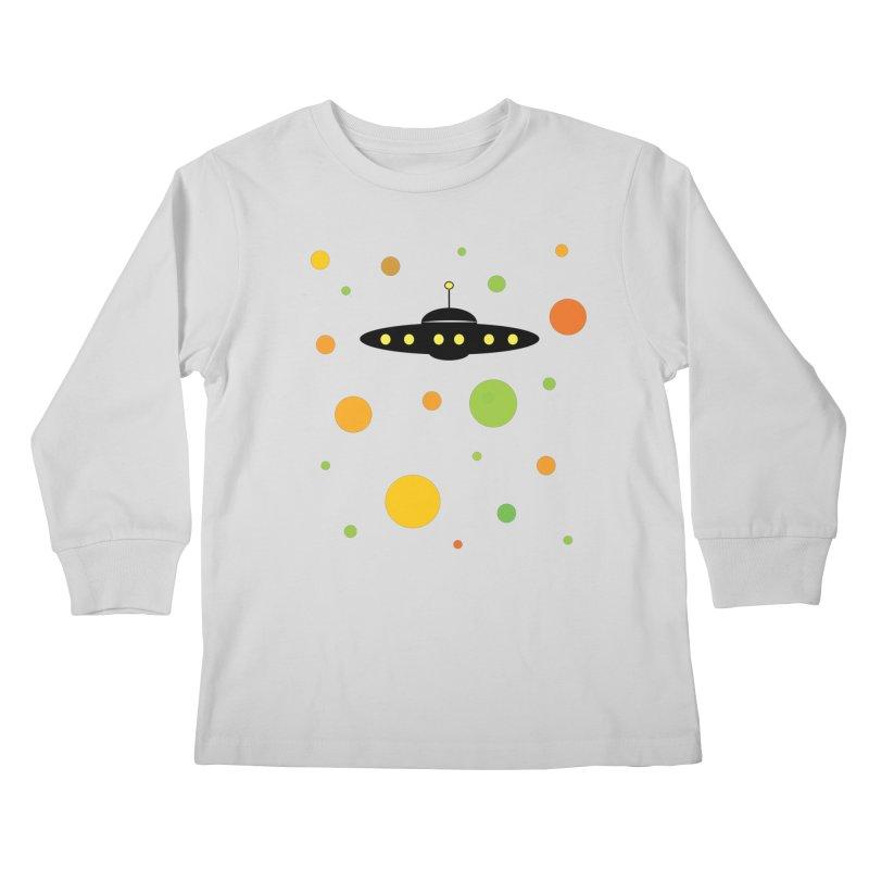 Among friends Kids Longsleeve T-Shirt by SuperOpt Shop