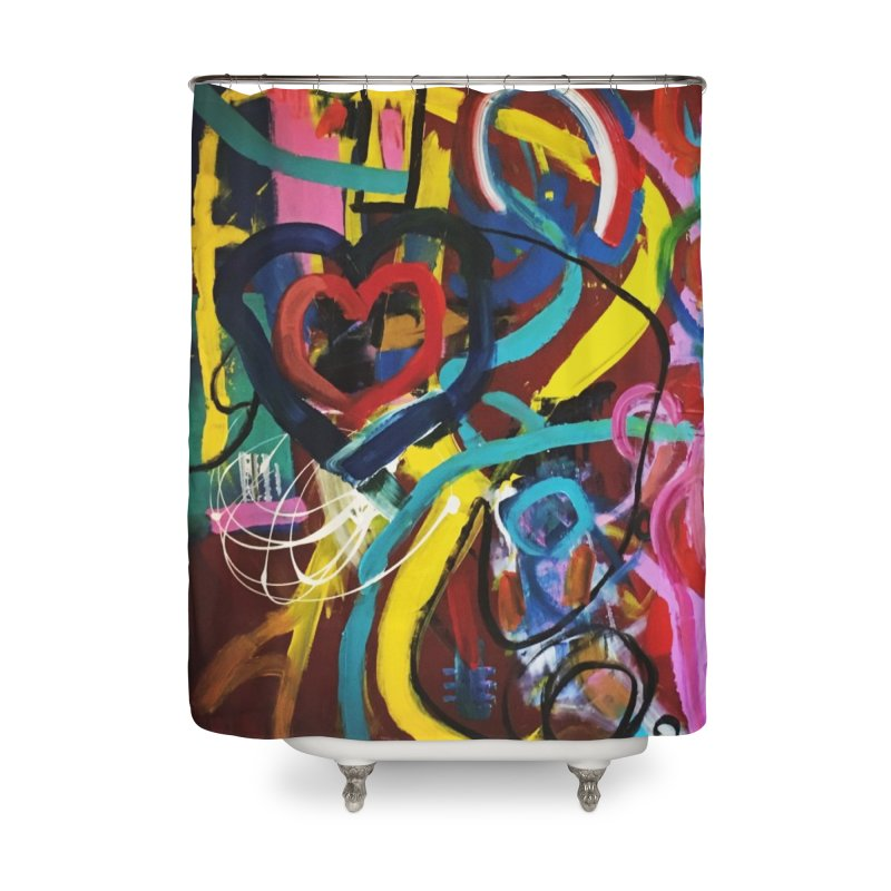 Grafitti No Lessons. Home Shower Curtain by Art Gallery By Z