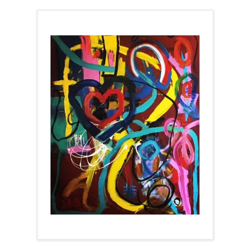 Grafitti No Lessons. Home Fine Art Print by Art Gallery By Z