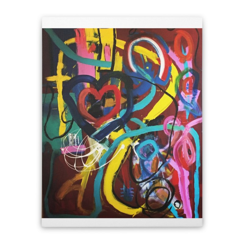 Grafitti No Lessons. Home Stretched Canvas by Art Gallery By Z