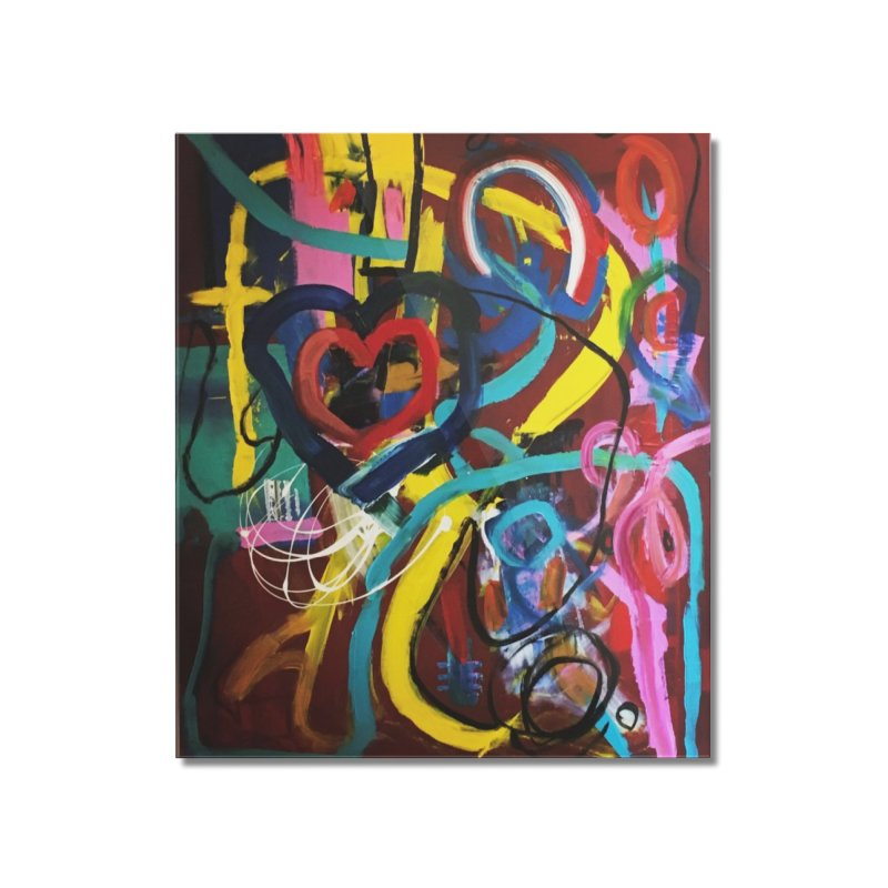 Grafitti No Lessons. Home Mounted Acrylic Print by Art Gallery By Z