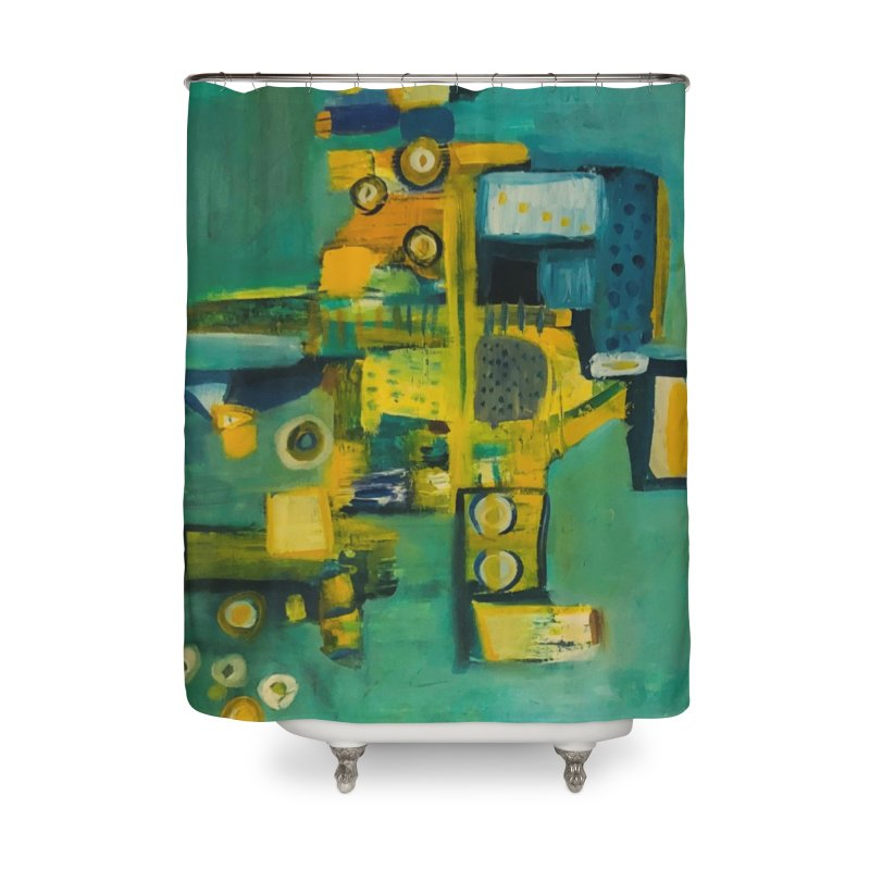 #9 says Kevin. Home Shower Curtain by Art Gallery By Z