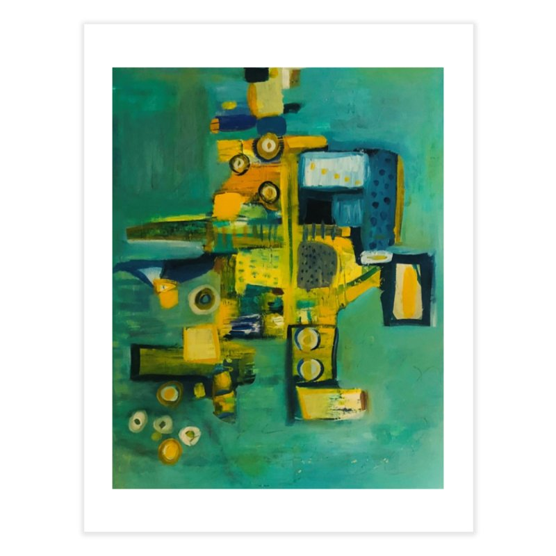 #9 says Kevin. Home Fine Art Print by Art Gallery By Z