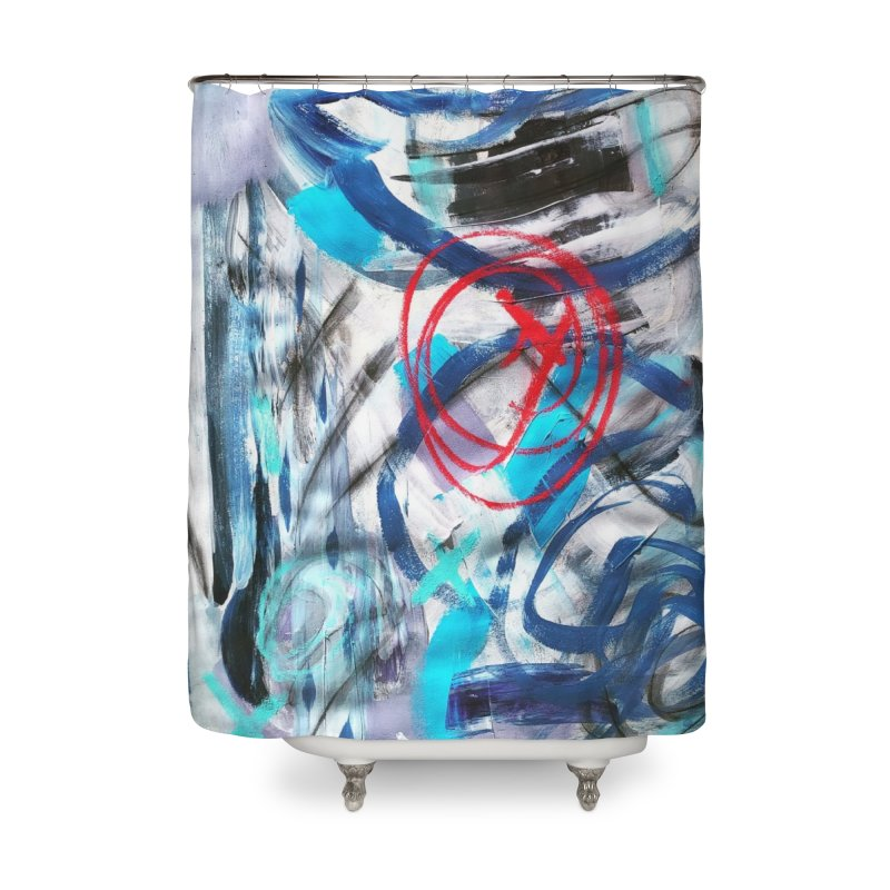 Have I got your attention? Home Shower Curtain by Art Gallery By Z