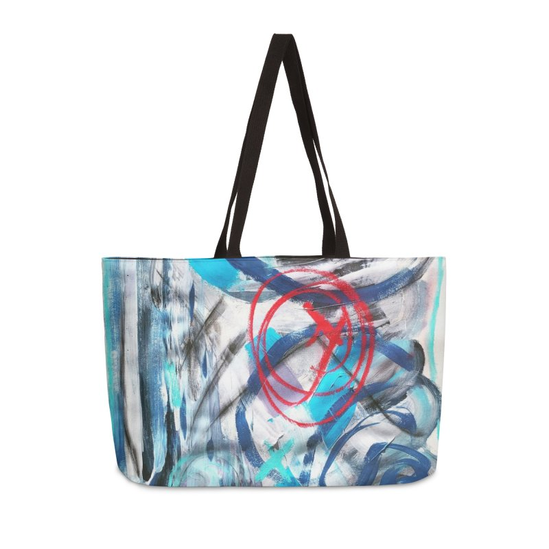 Have I got your attention? Accessories Bag by Art Gallery By Z