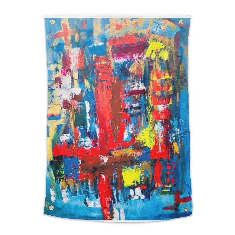 Swim Lane. Home Tapestry by Art Gallery By Z