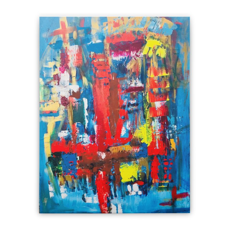 Swim Lane. Home Stretched Canvas by Art Gallery By Z