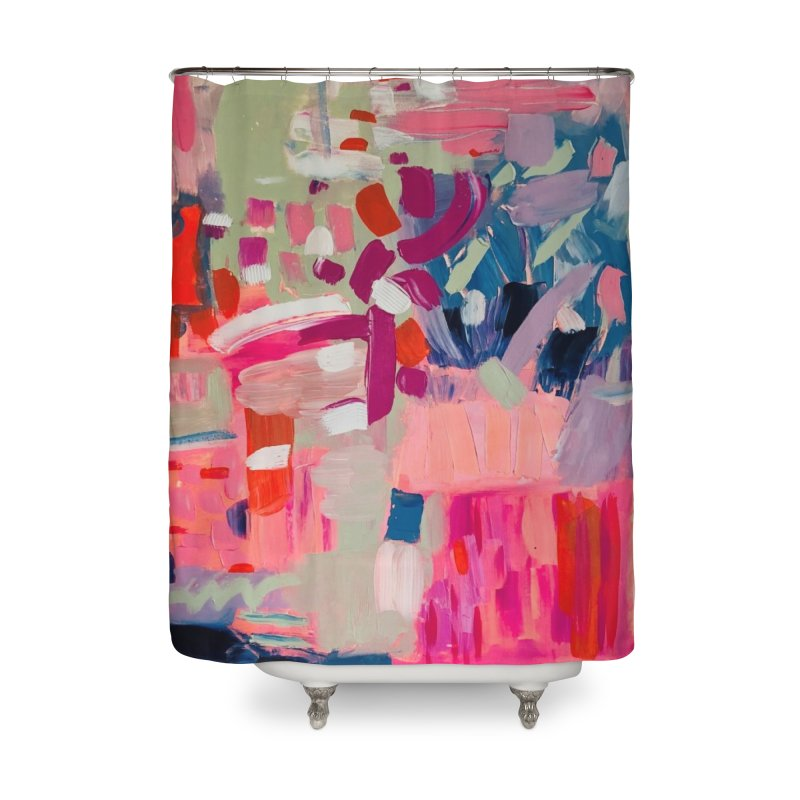 Let it be Bright. Home Shower Curtain by Art Gallery By Z