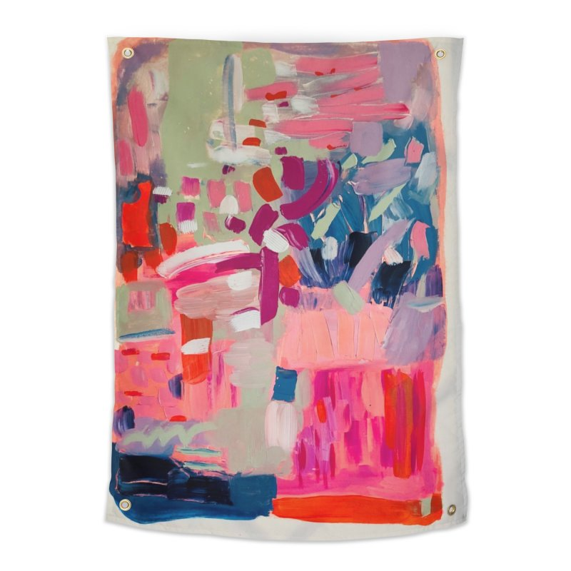 Let it be Bright. Home Tapestry by Art Gallery By Z