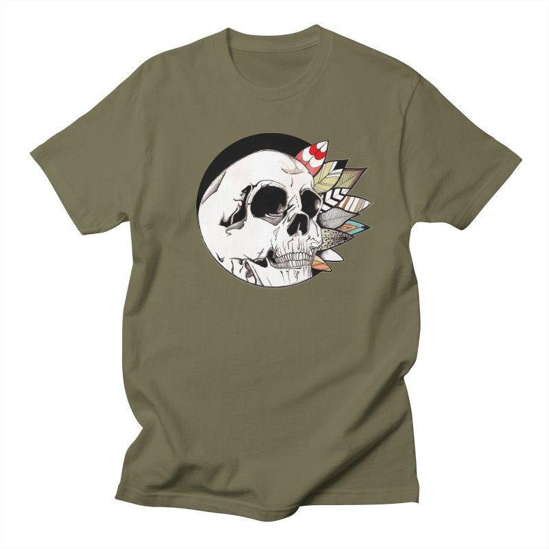 Indie Skull Men's T-Shirt by artichoke's Artist Shop