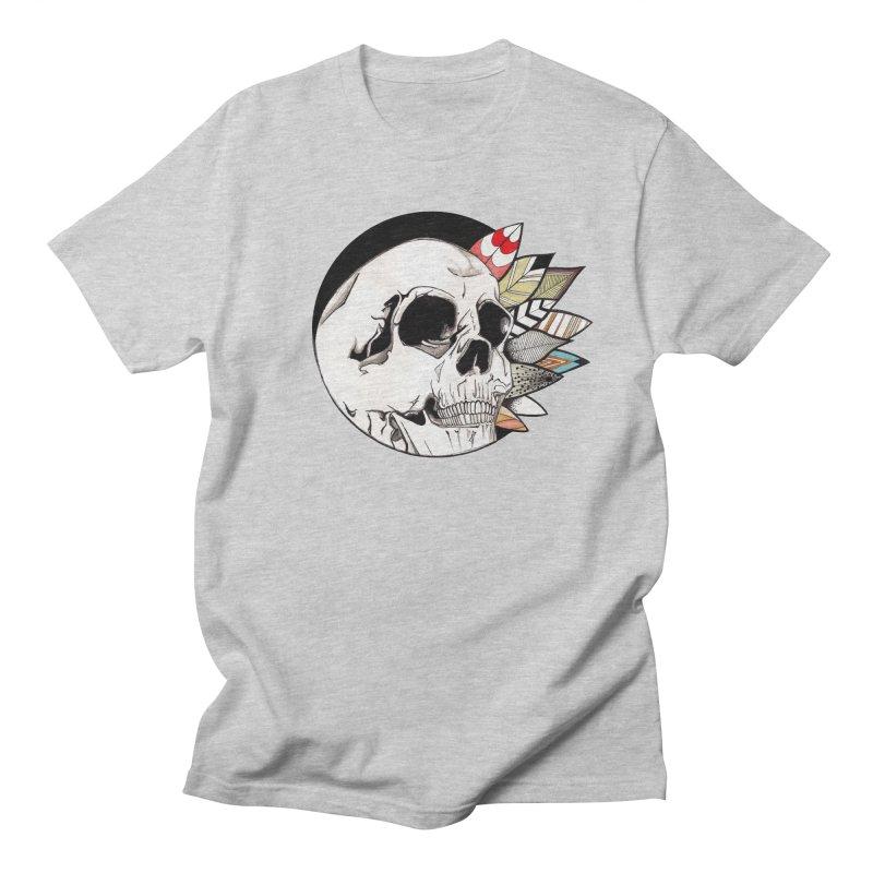 Indie Skull Men's T-Shirt by artichoke's Artist Shop