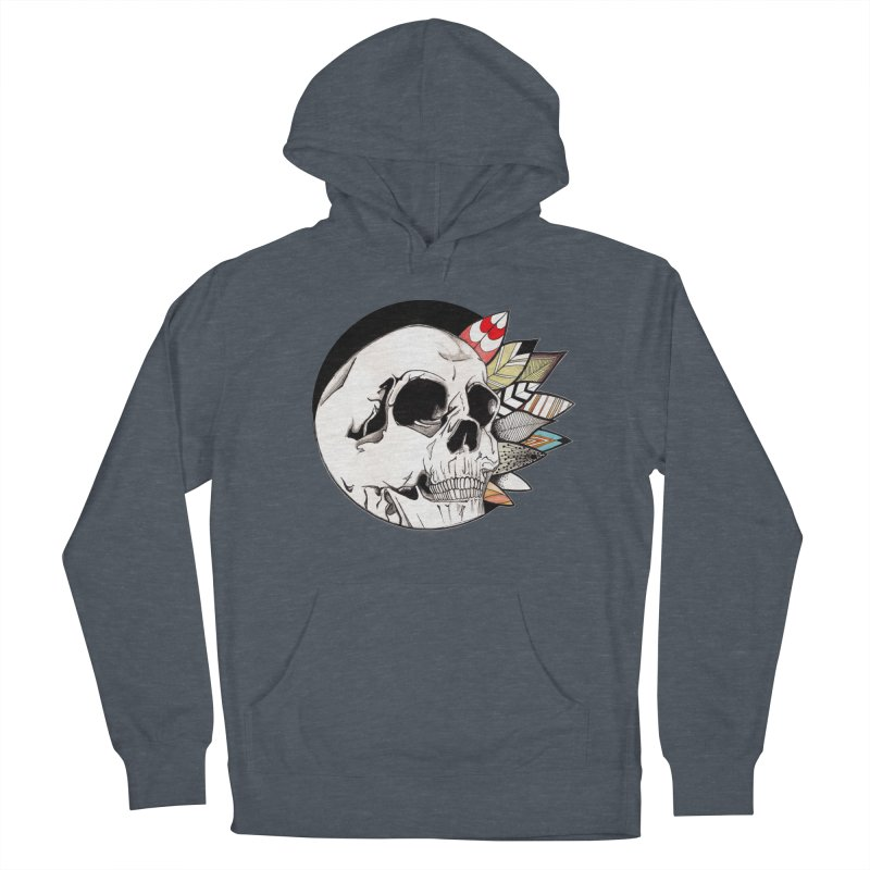 Indie Skull Women's French Terry Pullover Hoody by artichoke's Artist Shop