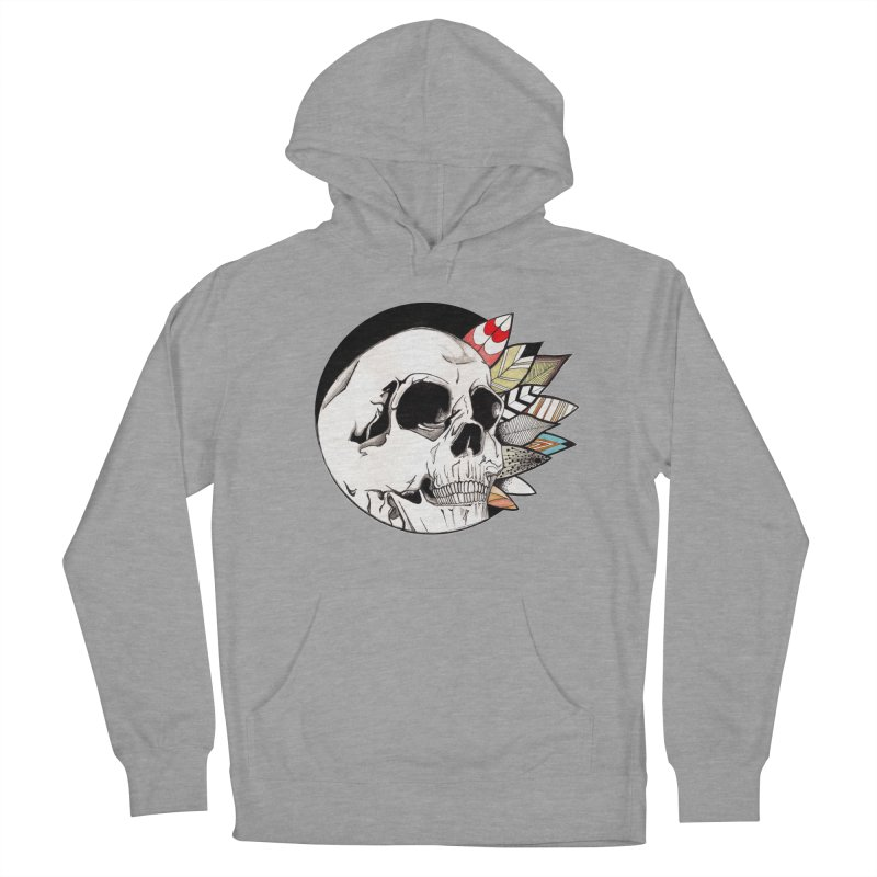 Indie Skull Women's Pullover Hoody by artichoke's Artist Shop
