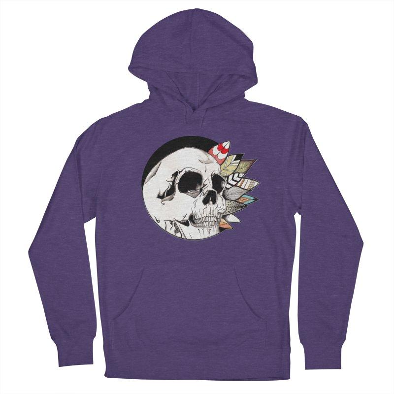 Indie Skull Men's Pullover Hoody by artichoke's Artist Shop