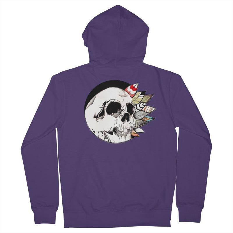 Indie Skull Women's Zip-Up Hoody by artichoke's Artist Shop