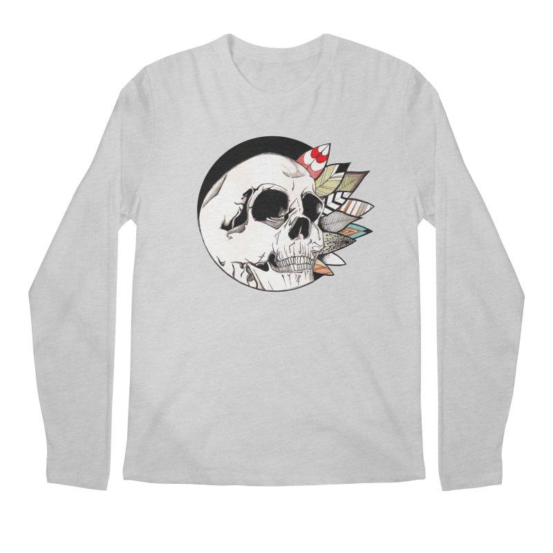 Indie Skull Men's Longsleeve T-Shirt by artichoke's Artist Shop