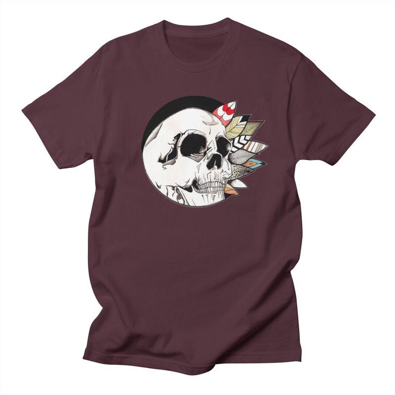 Indie Skull Men's Regular T-Shirt by artichoke's Artist Shop