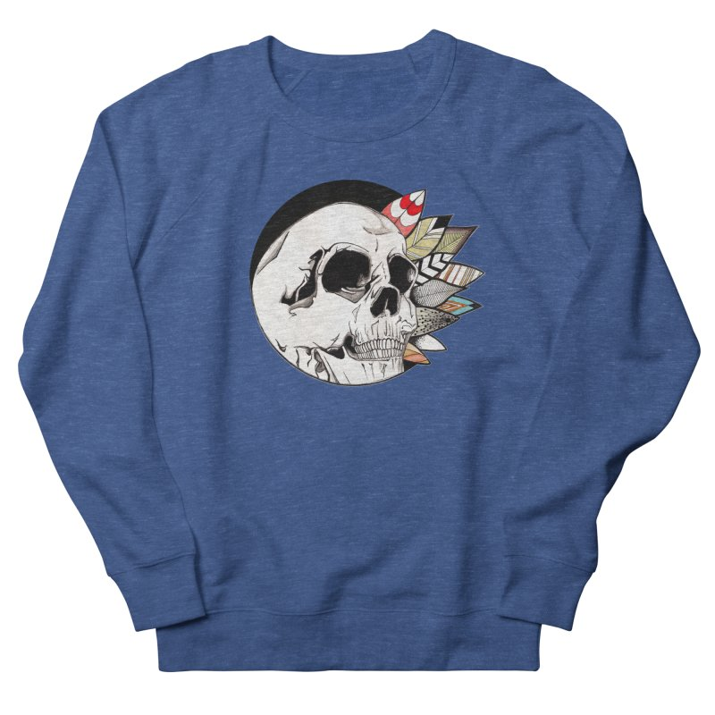Indie Skull Women's French Terry Sweatshirt by artichoke's Artist Shop
