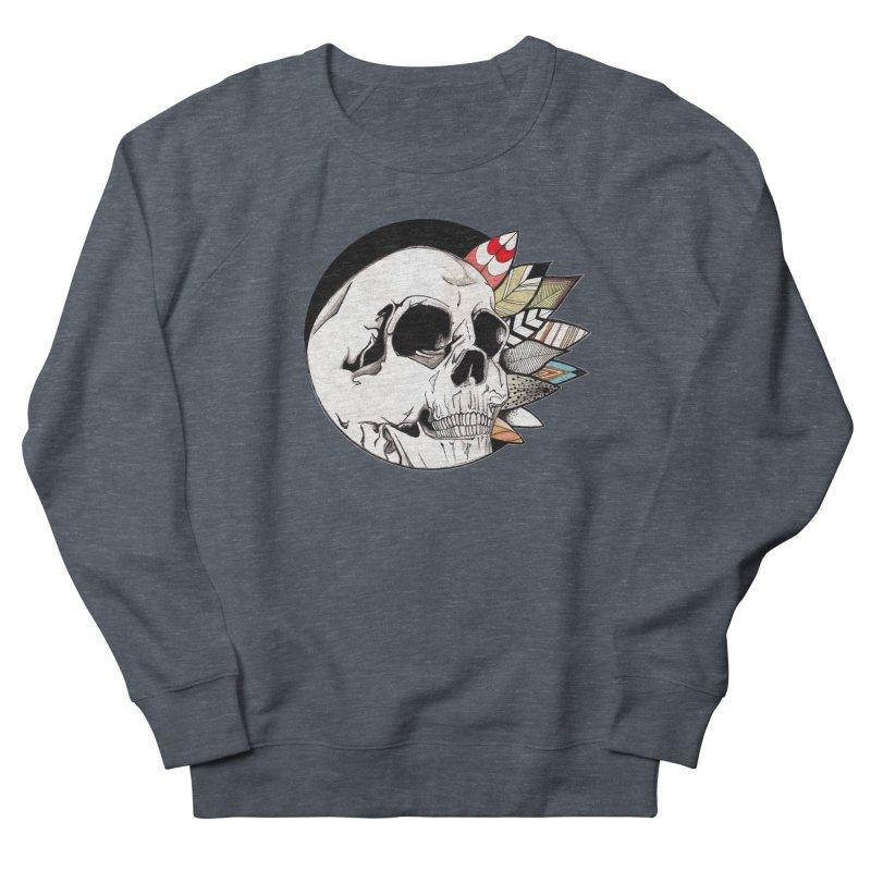 Indie Skull Men's Sweatshirt by artichoke's Artist Shop