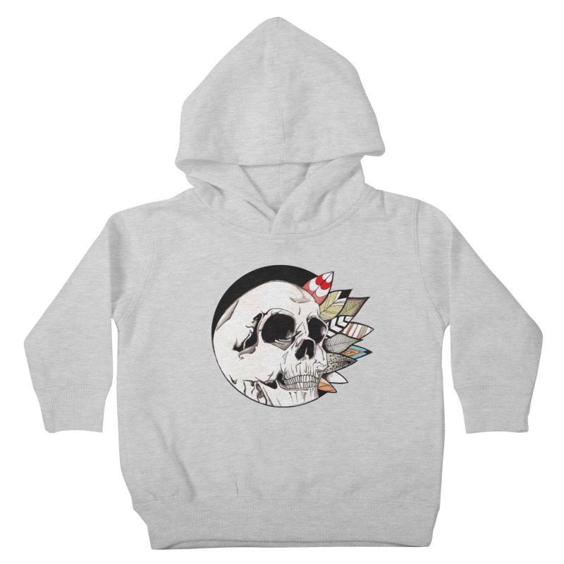 Indie Skull Kids Toddler Pullover Hoody by artichoke's Artist Shop