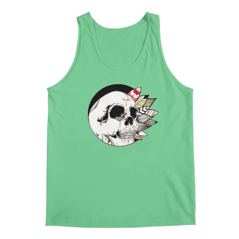 Indie Skull Men's Tank by artichoke's Artist Shop