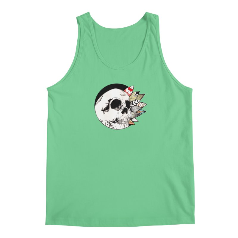 Indie Skull Men's Regular Tank by artichoke's Artist Shop
