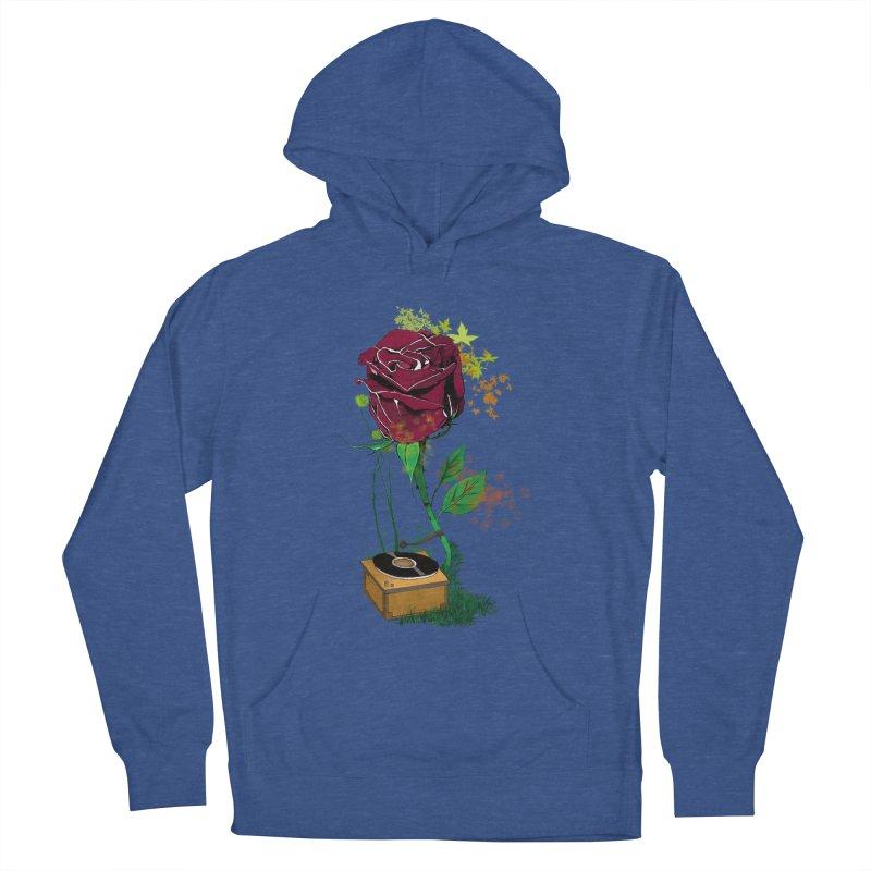 Gramophone Rose Women's Pullover Hoody by artichoke's Artist Shop