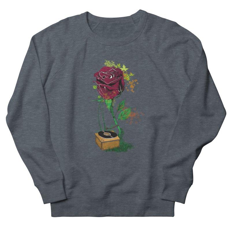 Gramophone Rose Men's Sweatshirt by artichoke's Artist Shop