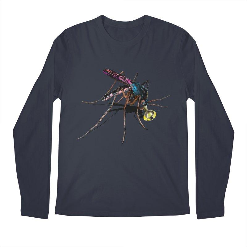 Trumpet Mosquito Men's Regular Longsleeve T-Shirt by artichoke's Artist Shop