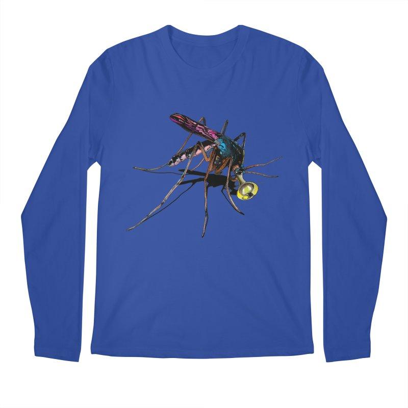 Trumpet Mosquito Men's Longsleeve T-Shirt by artichoke's Artist Shop