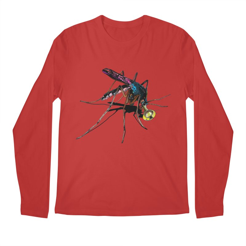 Trumpet Mosquito Men's Regular Longsleeve T-Shirt by artichoke's Artist Shop