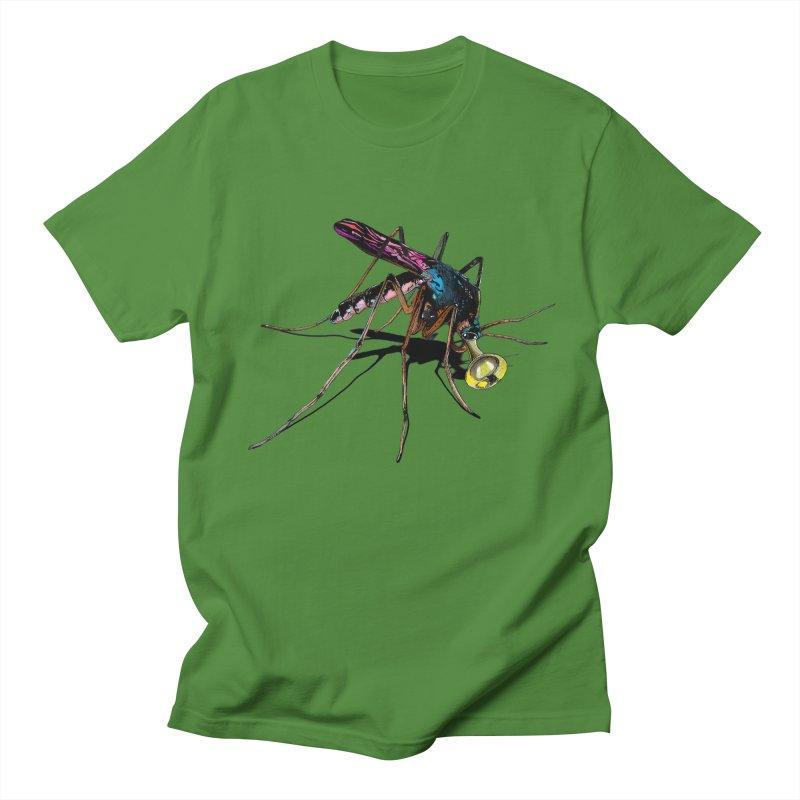 Trumpet Mosquito Men's Regular T-Shirt by artichoke's Artist Shop