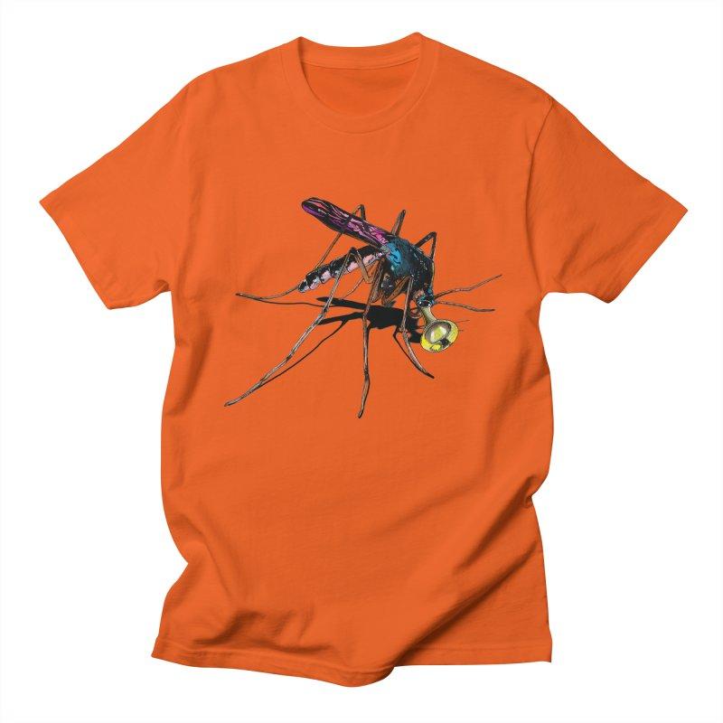 Trumpet Mosquito Men's T-shirt by artichoke's Artist Shop