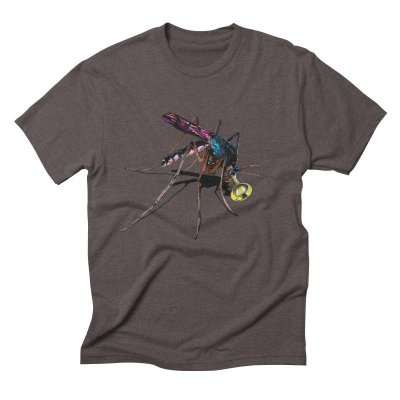 Trumpet Mosquito Men's Triblend T-Shirt by artichoke's Artist Shop