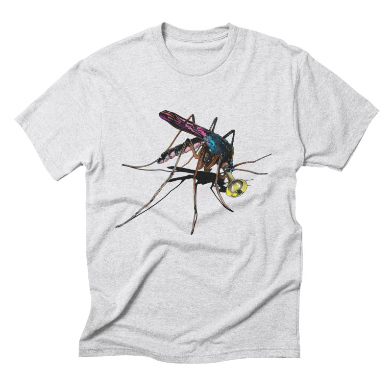 Trumpet Mosquito Men's Triblend T-Shirt by artichoke's Artist Shop