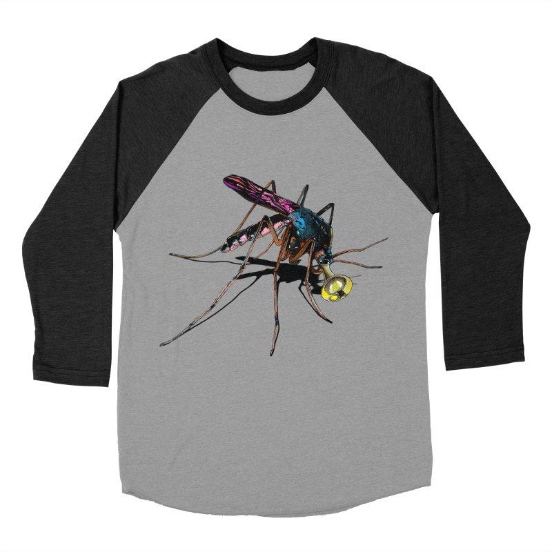 Trumpet Mosquito Women's Baseball Triblend Longsleeve T-Shirt by artichoke's Artist Shop