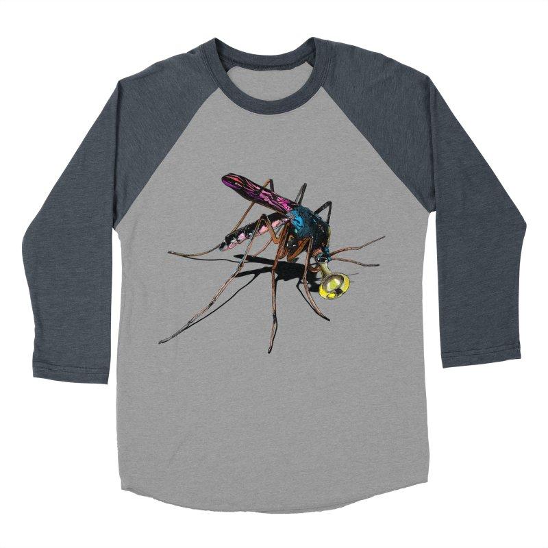 Trumpet Mosquito Women's Baseball Triblend T-Shirt by artichoke's Artist Shop