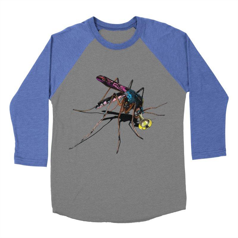 Trumpet Mosquito Men's Baseball Triblend T-Shirt by artichoke's Artist Shop