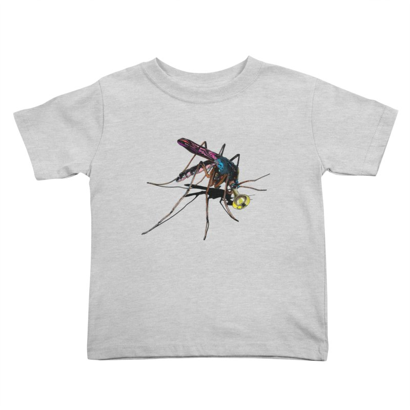Trumpet Mosquito Kids Toddler T-Shirt by artichoke's Artist Shop