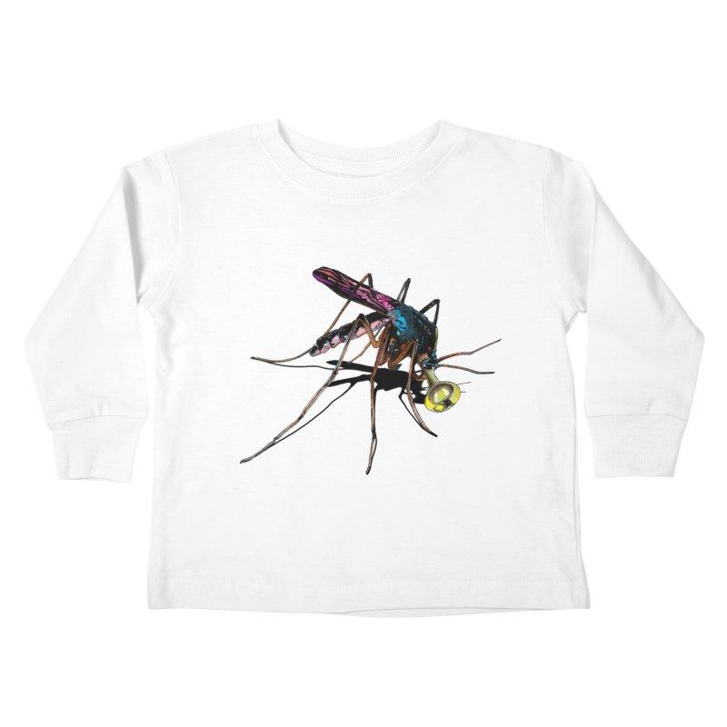 Trumpet Mosquito Kids Toddler Longsleeve T-Shirt by artichoke's Artist Shop