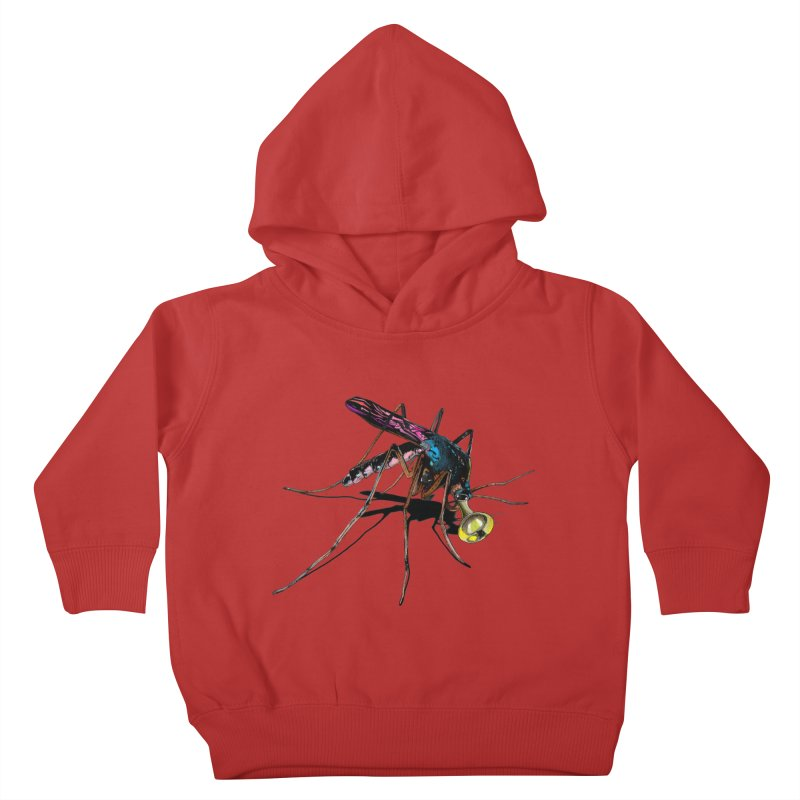 Trumpet Mosquito Kids Toddler Pullover Hoody by artichoke's Artist Shop