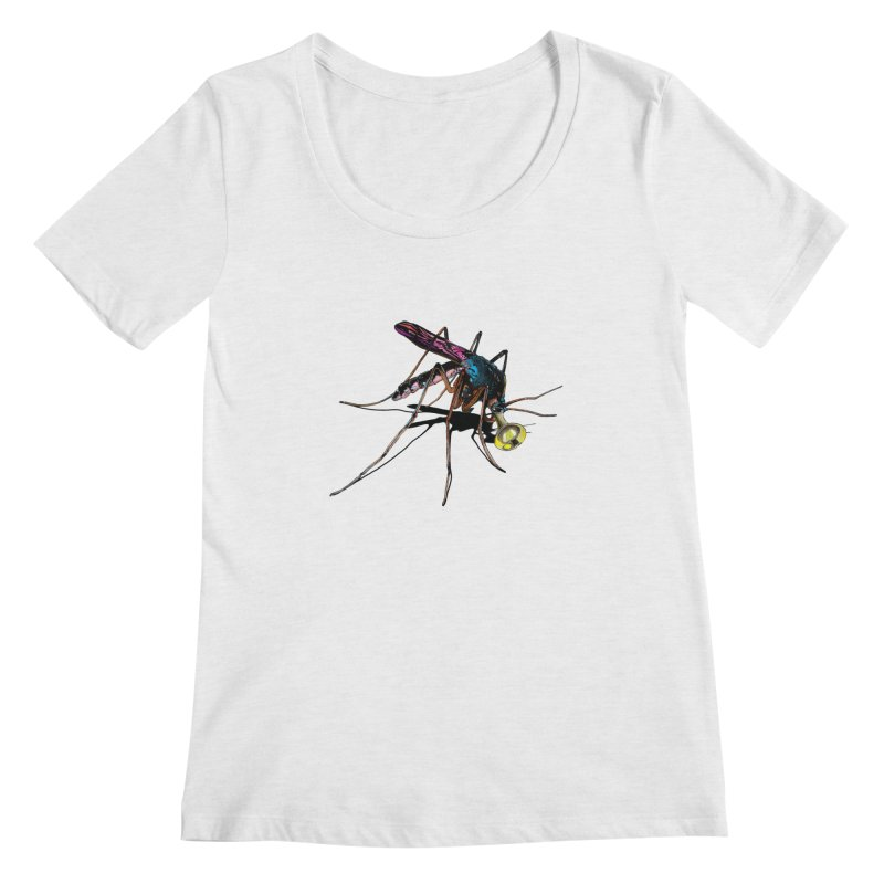 Trumpet Mosquito Women's Regular Scoop Neck by artichoke's Artist Shop