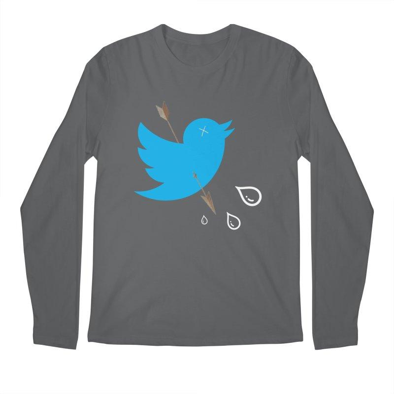 RIP Twitter Men's Longsleeve T-Shirt by artichoke's Artist Shop