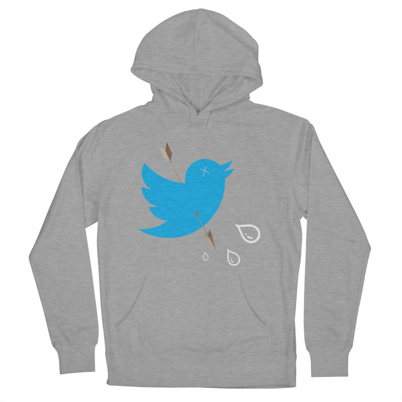 RIP Twitter Men's French Terry Pullover Hoody by artichoke's Artist Shop