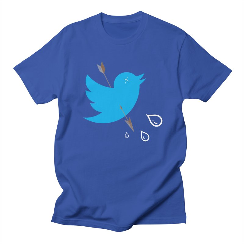 RIP Twitter Men's T-Shirt by artichoke's Artist Shop