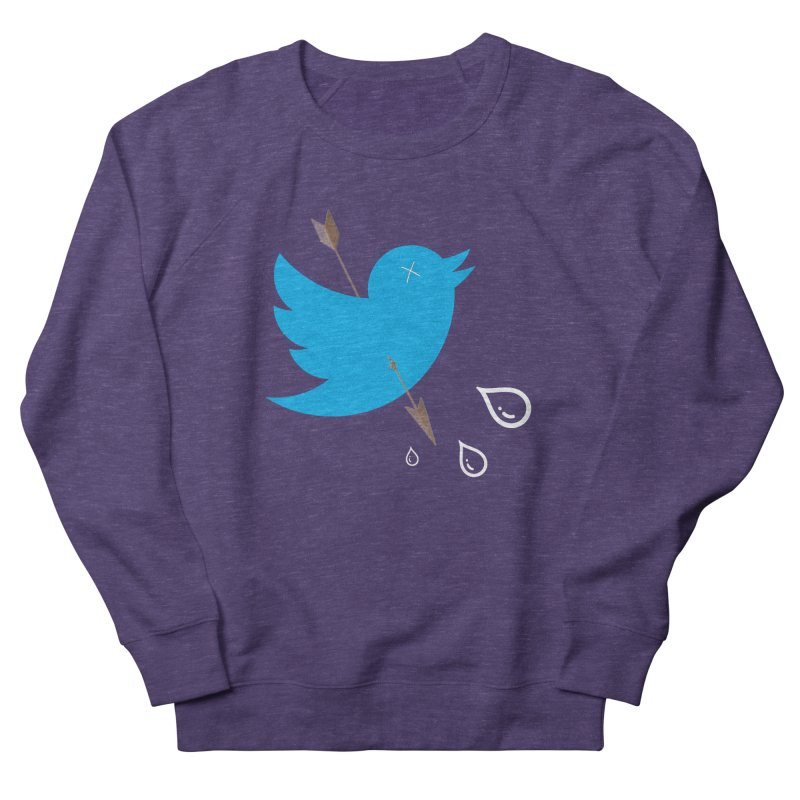 RIP Twitter Women's French Terry Sweatshirt by artichoke's Artist Shop