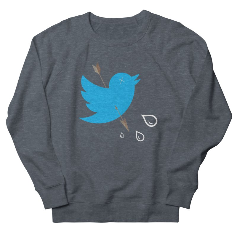 RIP Twitter Men's French Terry Sweatshirt by artichoke's Artist Shop