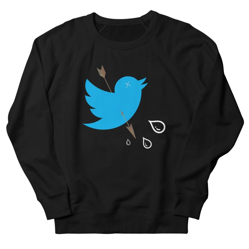 RIP Twitter Men's French Terry Sweatshirt by artichoke's Artist Shop