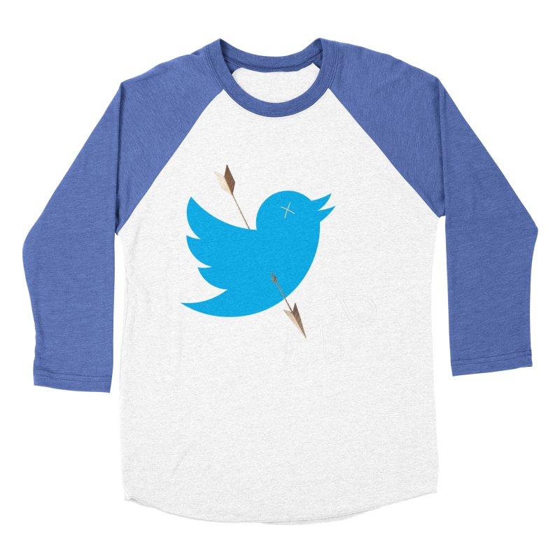 RIP Twitter Women's Baseball Triblend Longsleeve T-Shirt by artichoke's Artist Shop